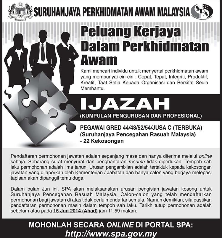 Pegawai Di Suruhanjaya Pencegahan Rasuah Malaysia